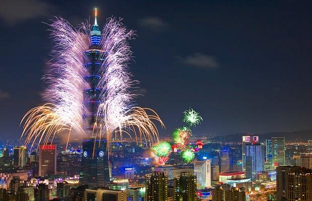 New Years Eve in Taiwan