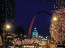 Christmas Decorations and Events in St Louis