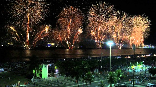 New Years Eve in Brazil