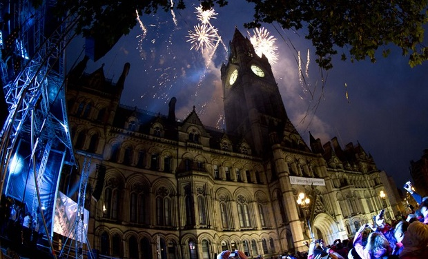 New Years Eve in Manchester