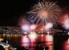 NYE Fireworks in Valparaiso