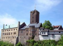 Wartburg Castle in Germany