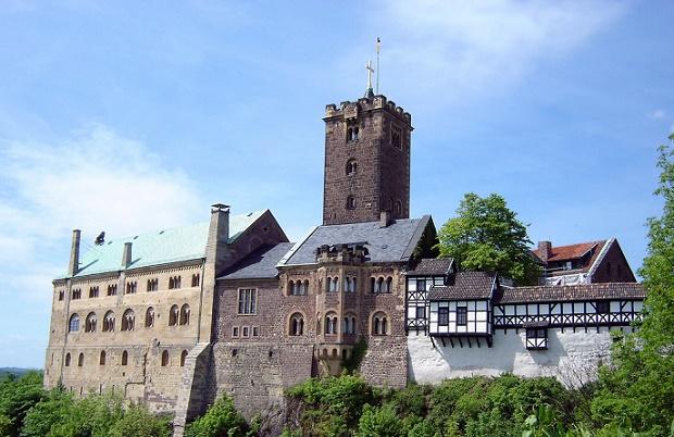 Wartburg Castle in Germany