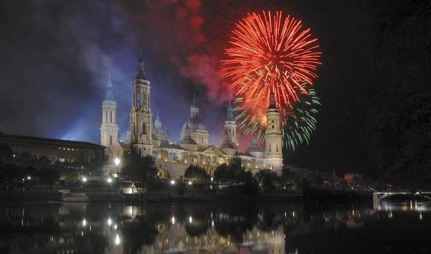 NYE Fireworks in Zaragoza