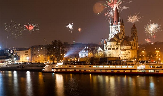 NYE celebrations in Austria