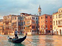 Mediterranean Architecture in Venice