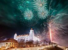 NYE Fireworks in Ljubljana