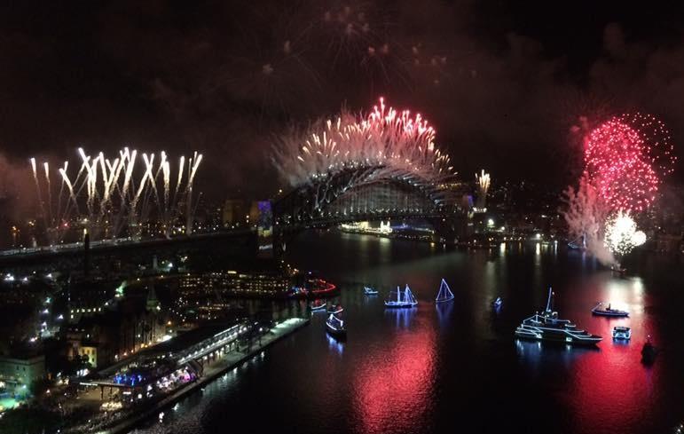 NYE Fireworks 2017 Sydney