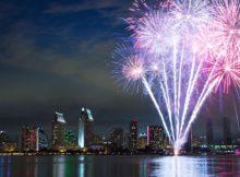 NYE Fireworks in San Diego