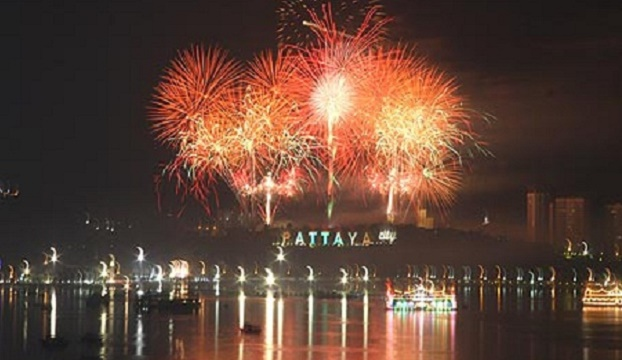 NYE Fireworks in Pattaya